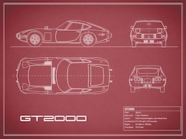 Toyota GT2000 - Red