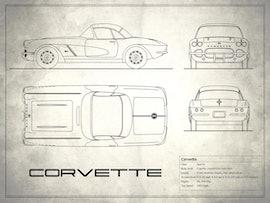 Corvette - White