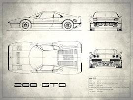 Ferrari 288 GTO - White