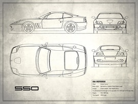 550 Maranello - White