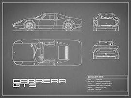 Porsche Carrera GTS - Gray