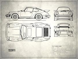 Porsche 911 Turbo - White