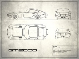 Toyota GT2000 - White