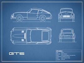 Triumph GT6 - Blue