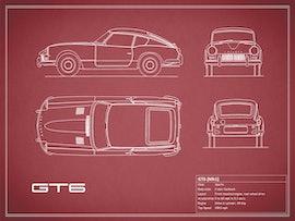 Triumph GT6 - Red