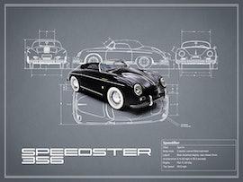 Porsche Speedster - Gray