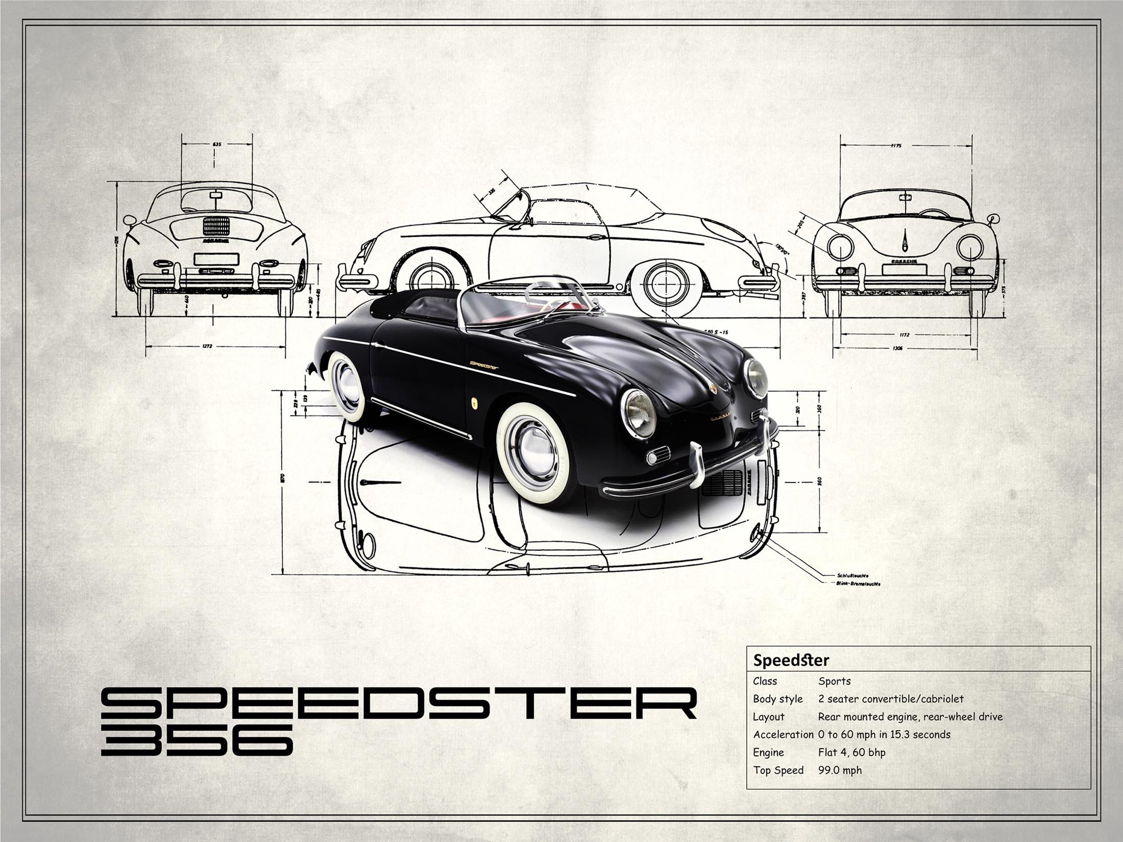 Porsche Speedster - White