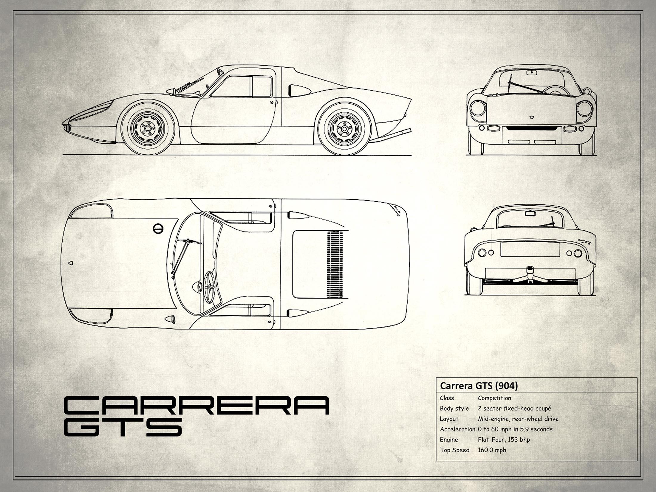 Porsche Carrera GTS - White