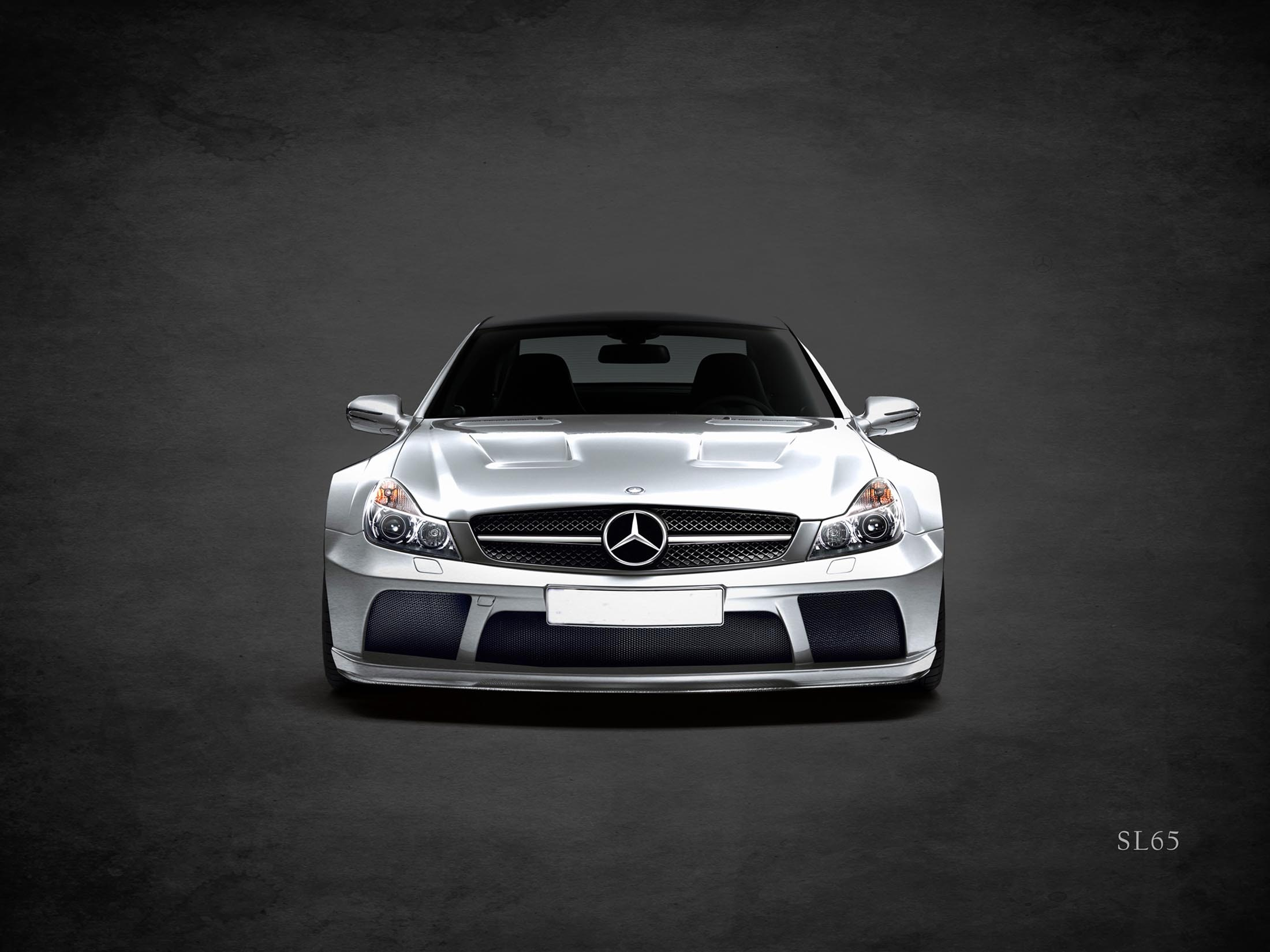 MERCEDES BENZ SL65.