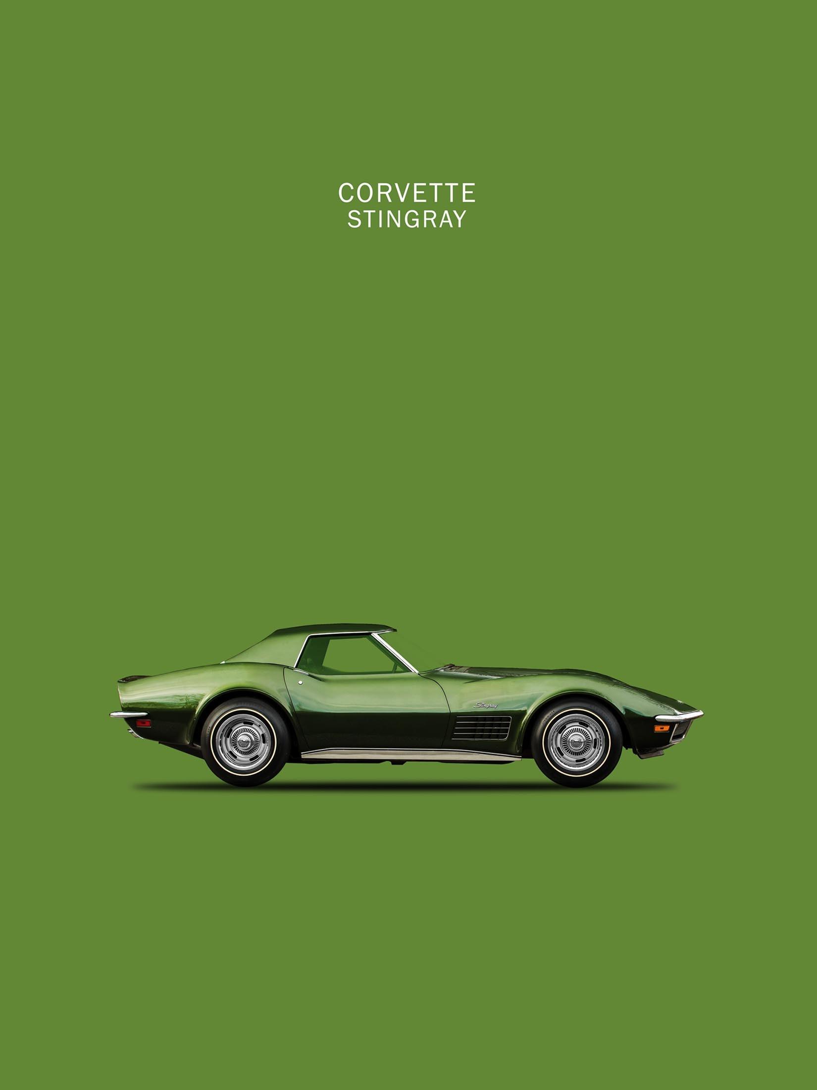 Corvette Stingray C3 (Green)