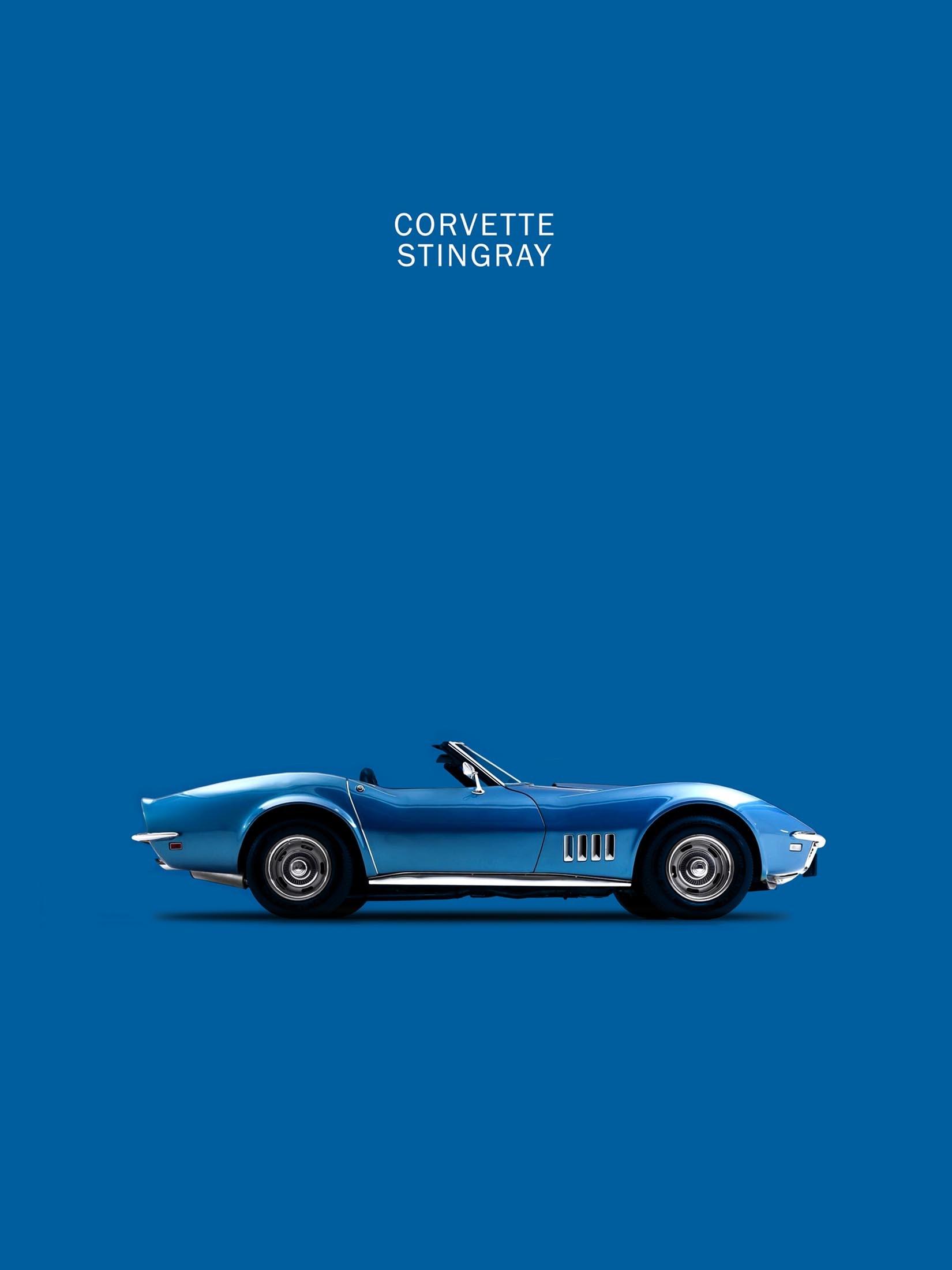 Corvette Stingray C3 (Blue)