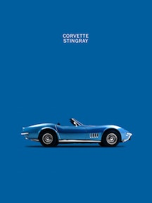 Corvette Stingray C3 (Blue)