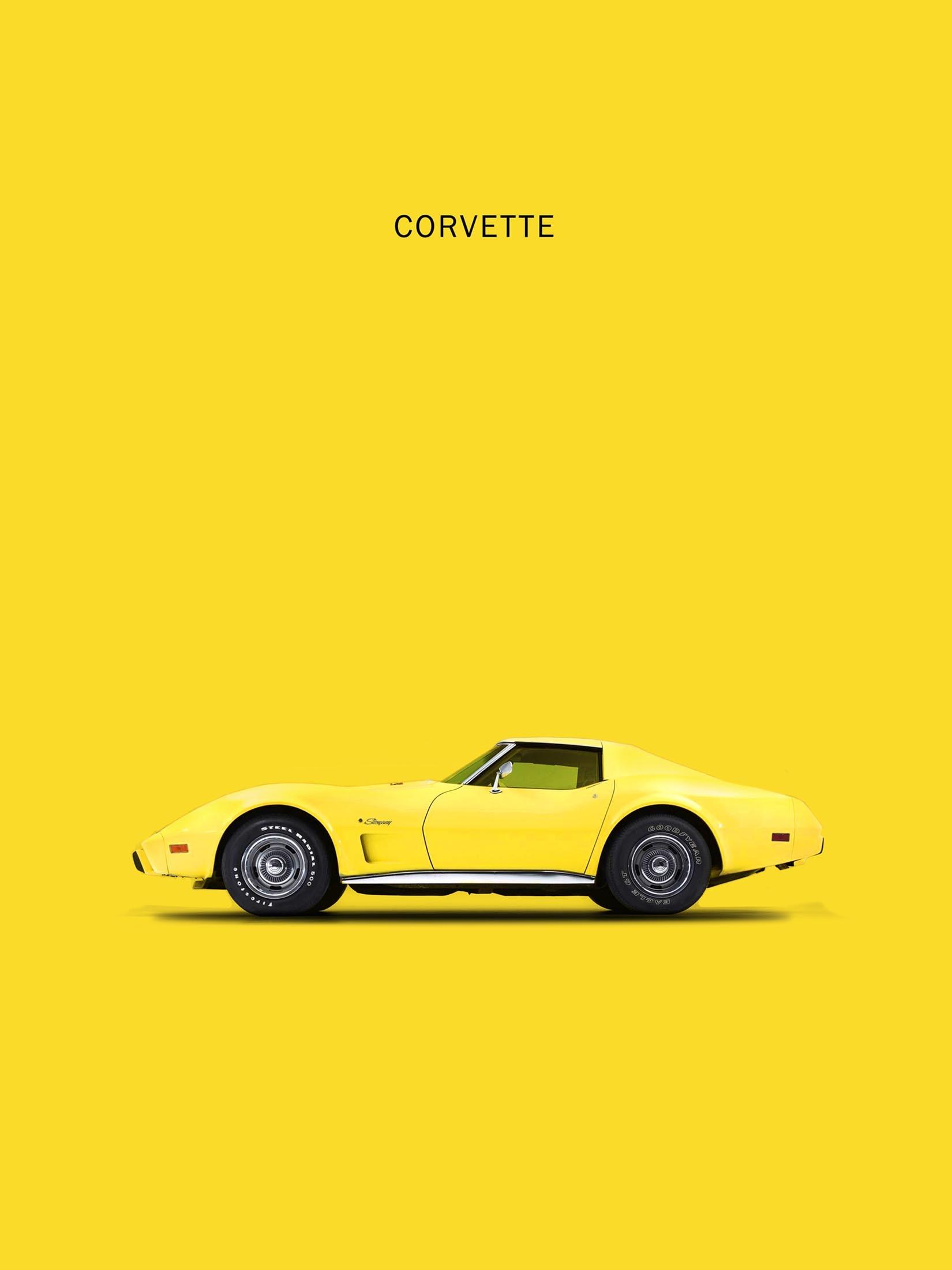 Corvette - Yellow