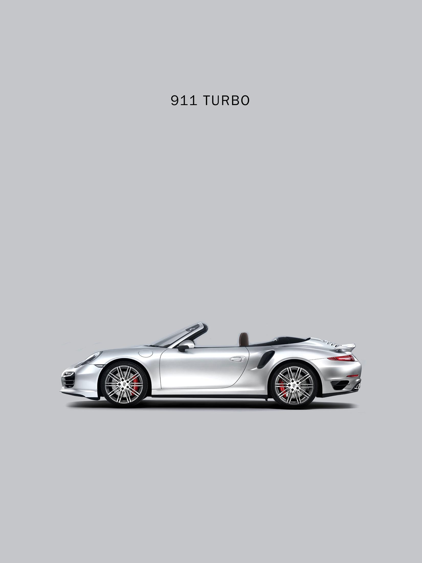911 Turbo - Silver