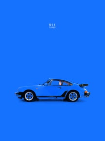 911 Turbo - Blue