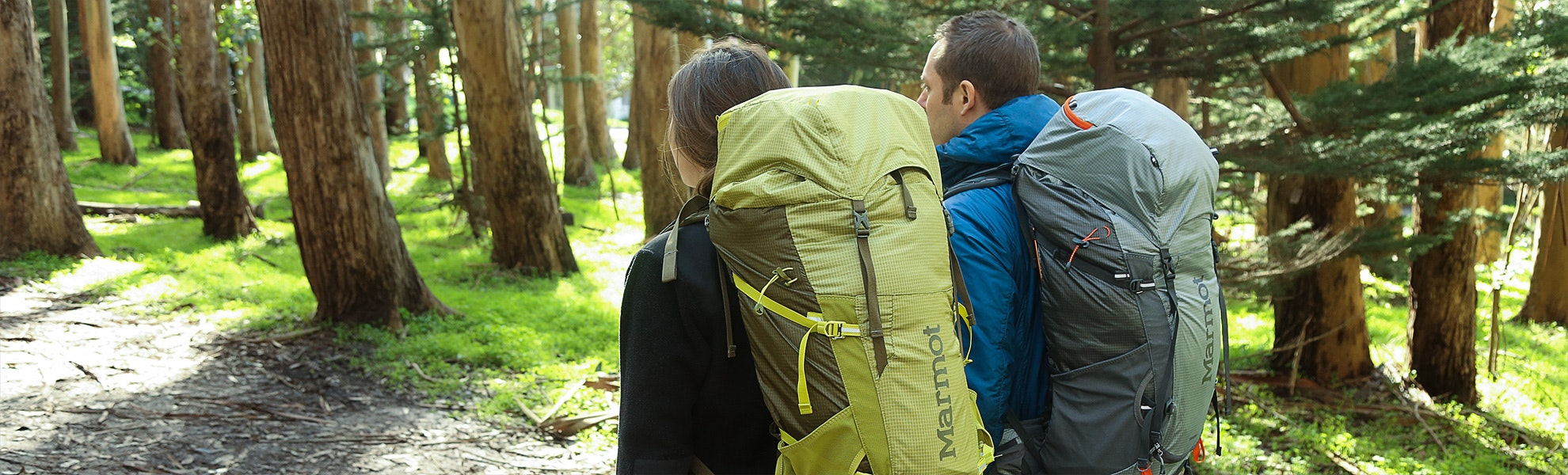 Marmot Graviton 38 and 58L Backpacks