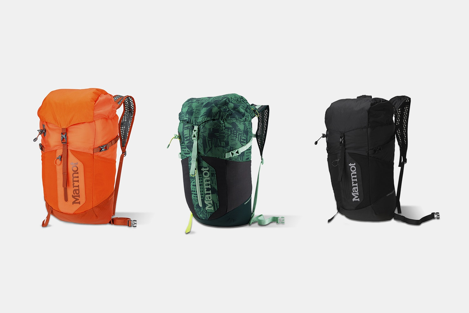 Marmot Kompressor Plus & Star Backpacks