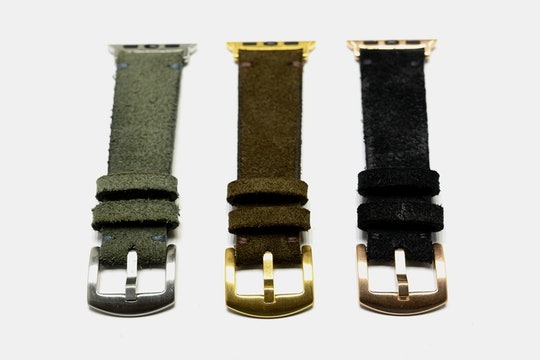 Martu Leather Suede Apple Watch Band