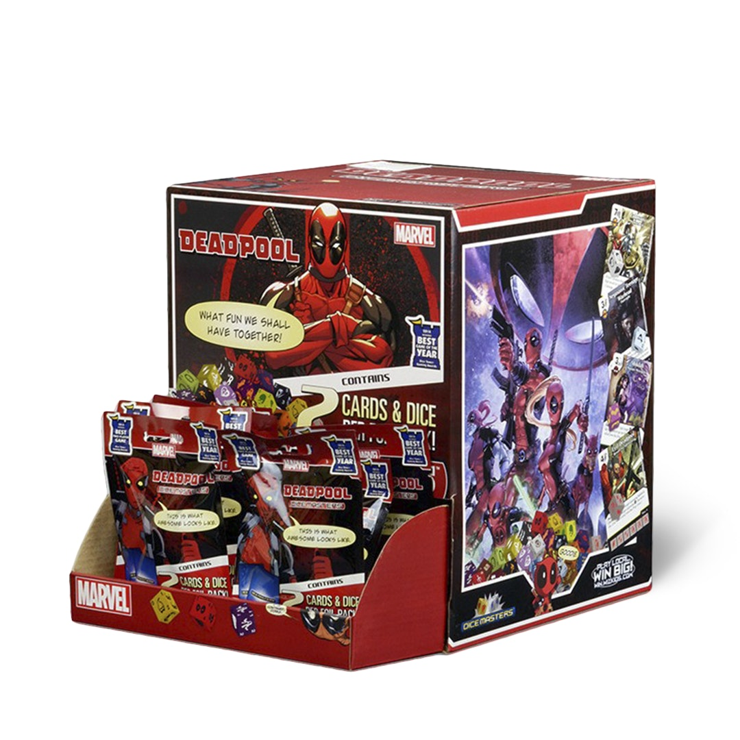 Marvel Dice Masters: Deadpool Gravity Feed Box