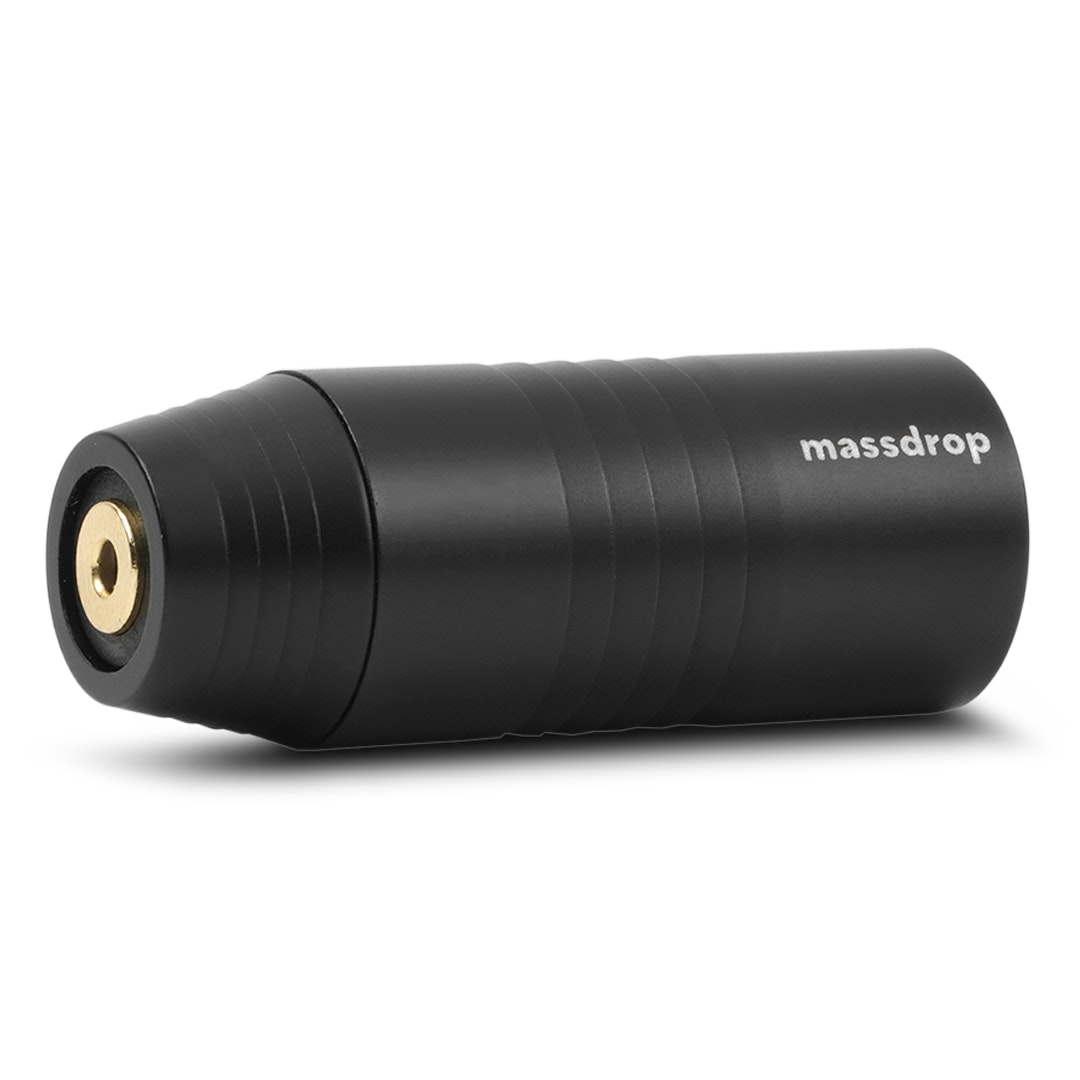Massdrop 4-Pin XLR-to-2.5mm TRRS Adapter