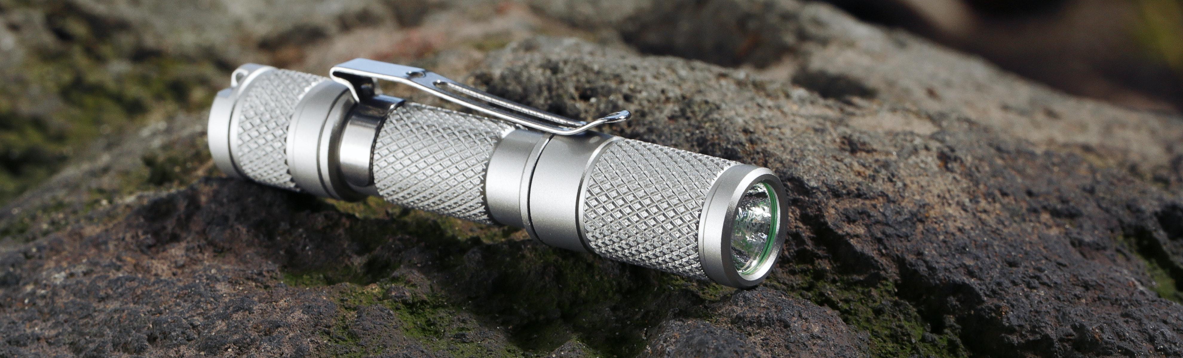 Massdrop Aluminum AAA Flashlight