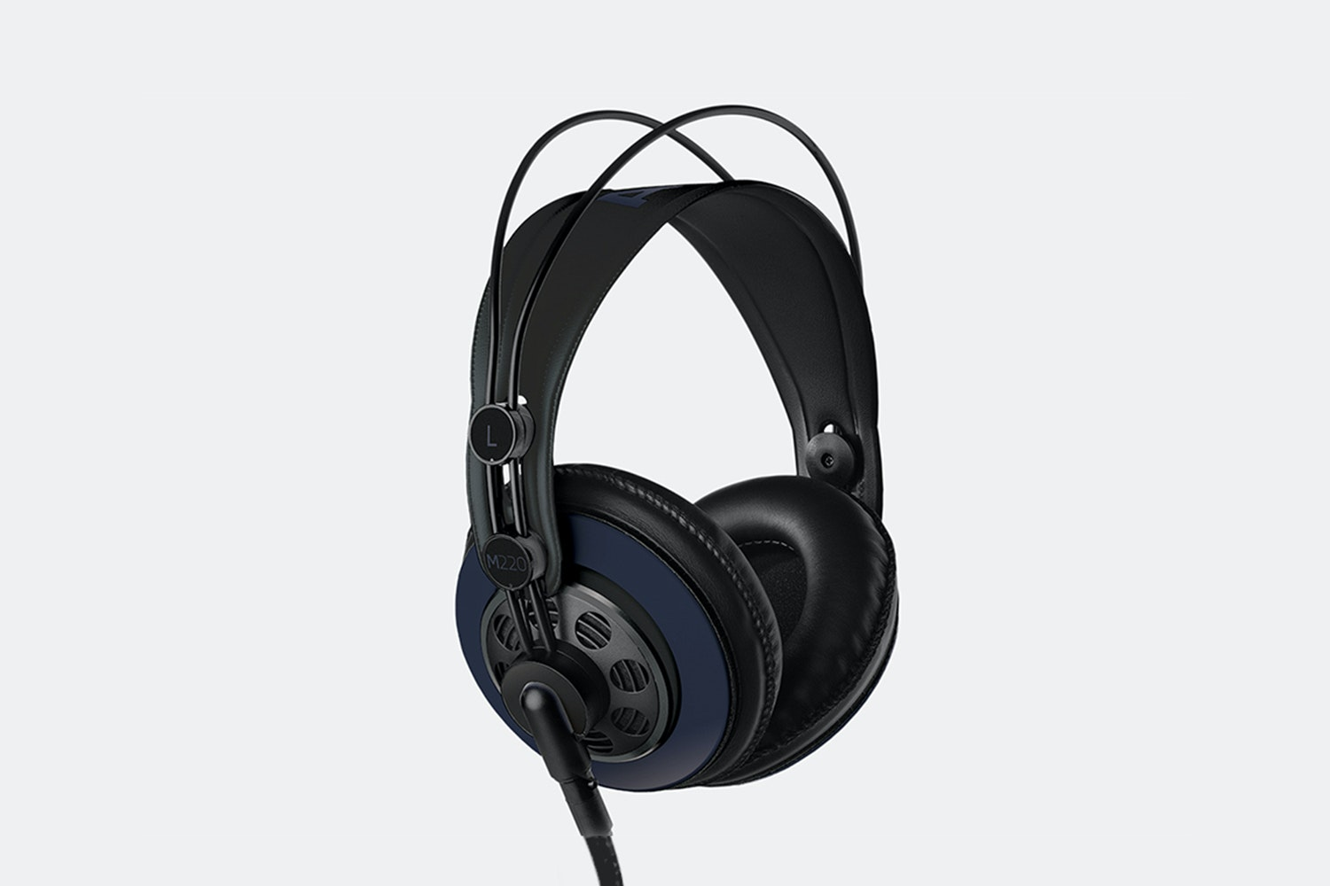 Massdrop x AKG M220 Pro headphones in blue