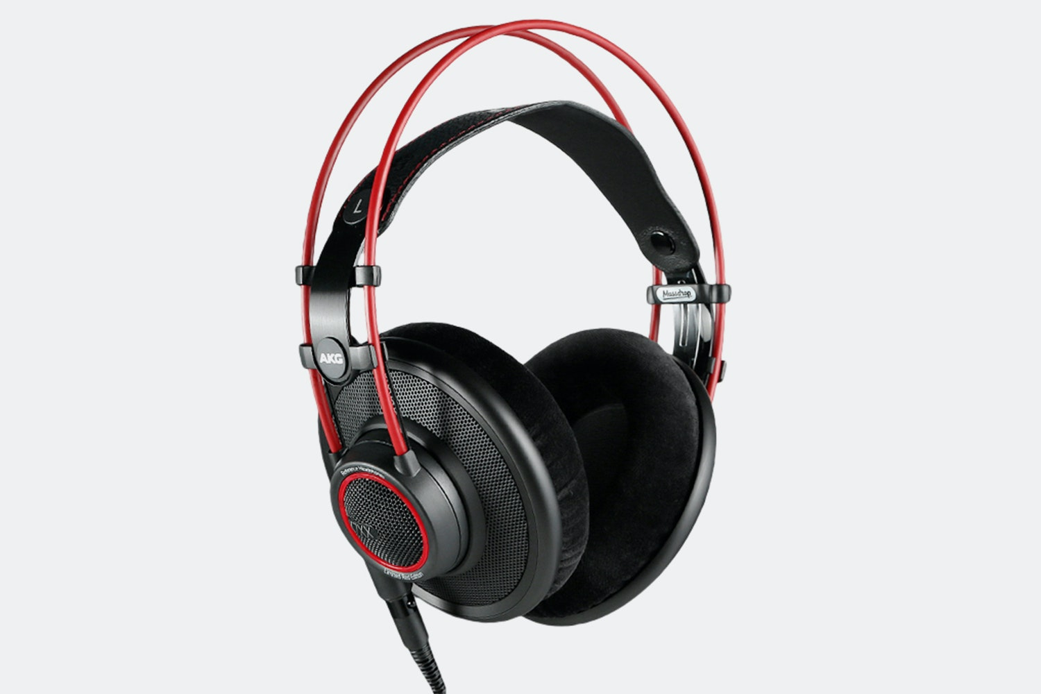 Massdrop x AKG K7XX headphones in red