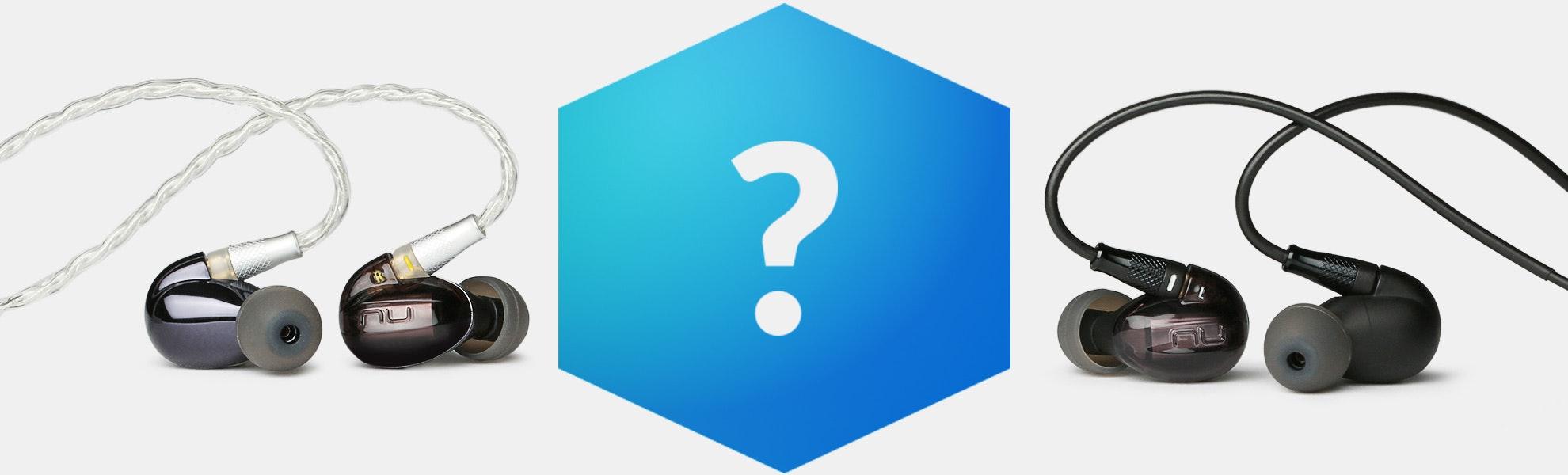 Massdrop Blue Box: NuForce HEM IEMs
