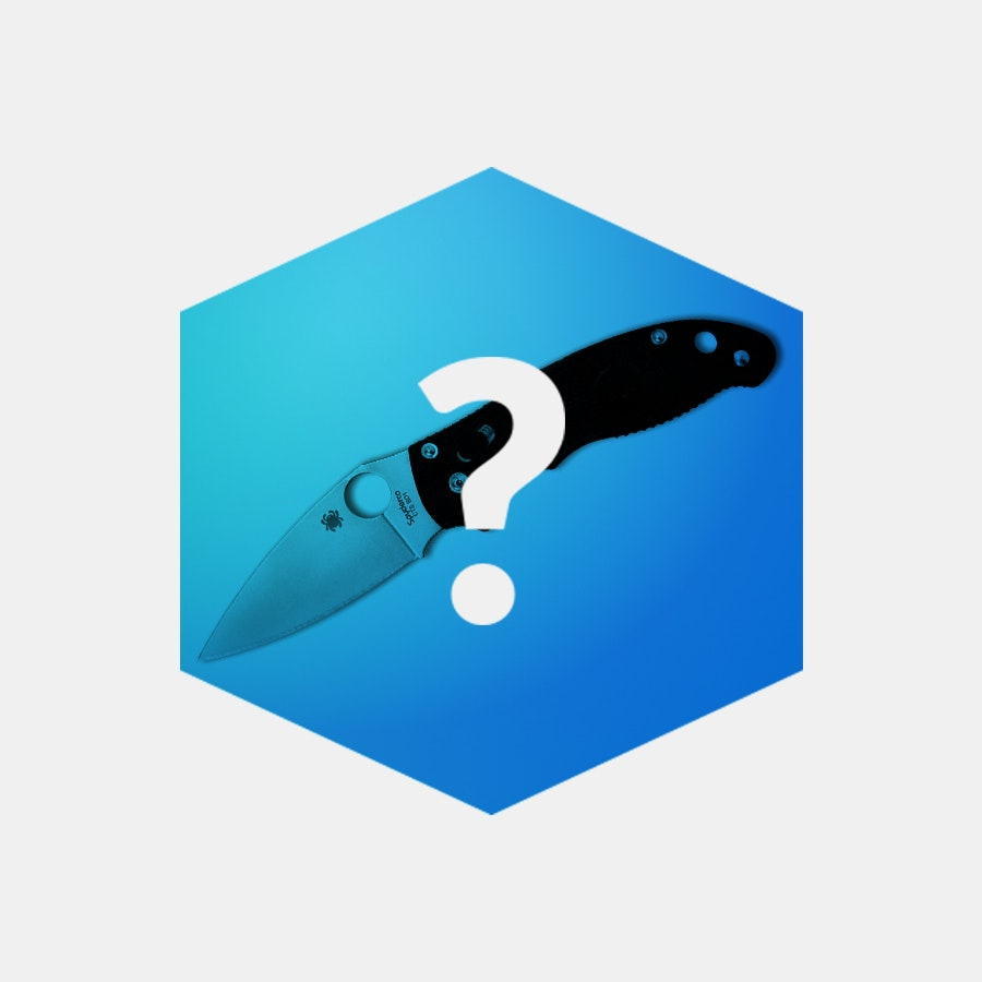 Massdrop Blue Box: Spyderco Manix 2 Folding Knife