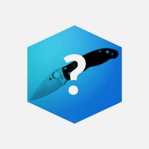 Massdrop Blue Box: Spyderco Manix 2 Folding Knife | Price