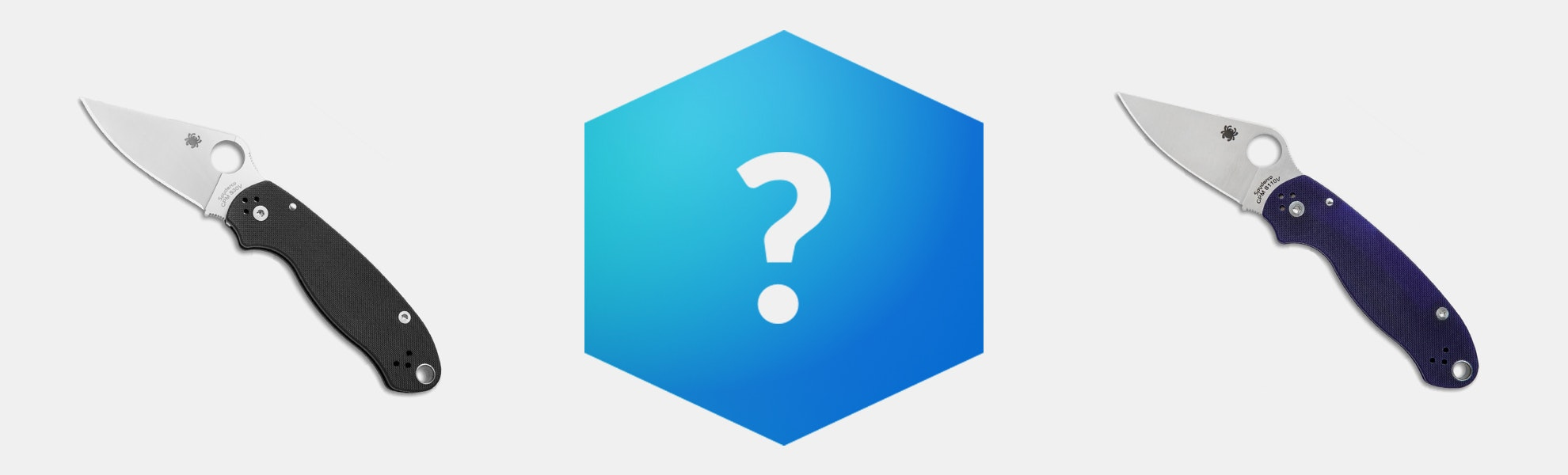 Massdrop Blue Box: Spyderco Para 3