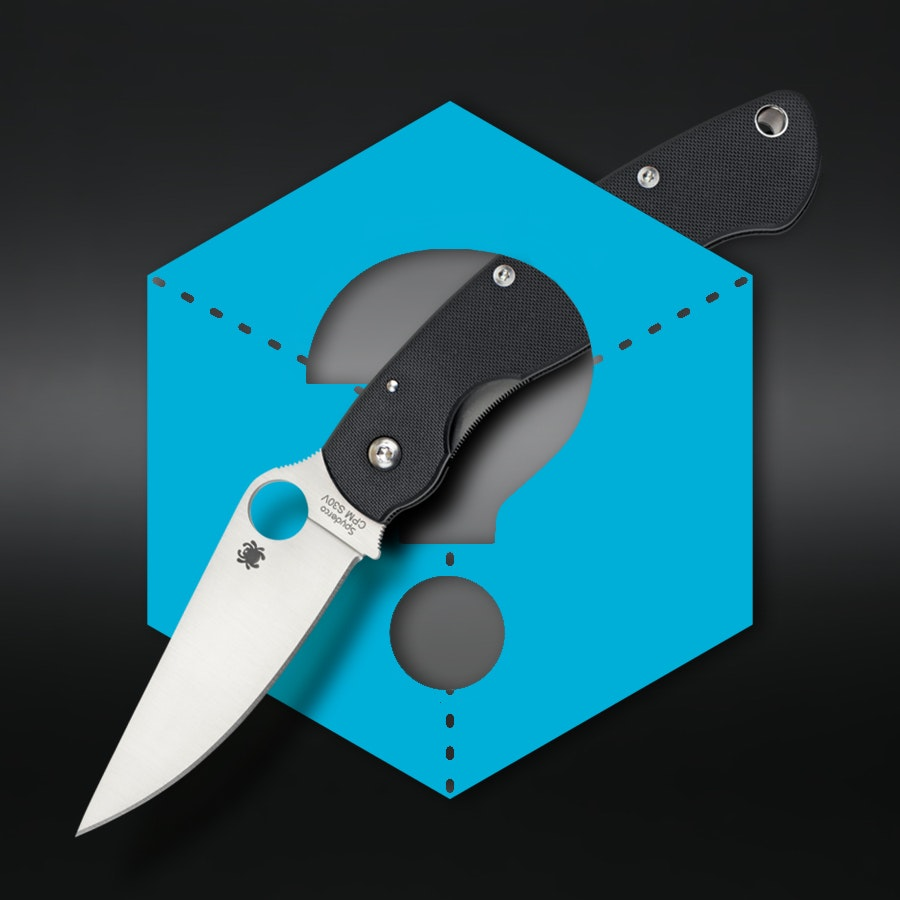Massdrop Blue Box: Spyderco Military
