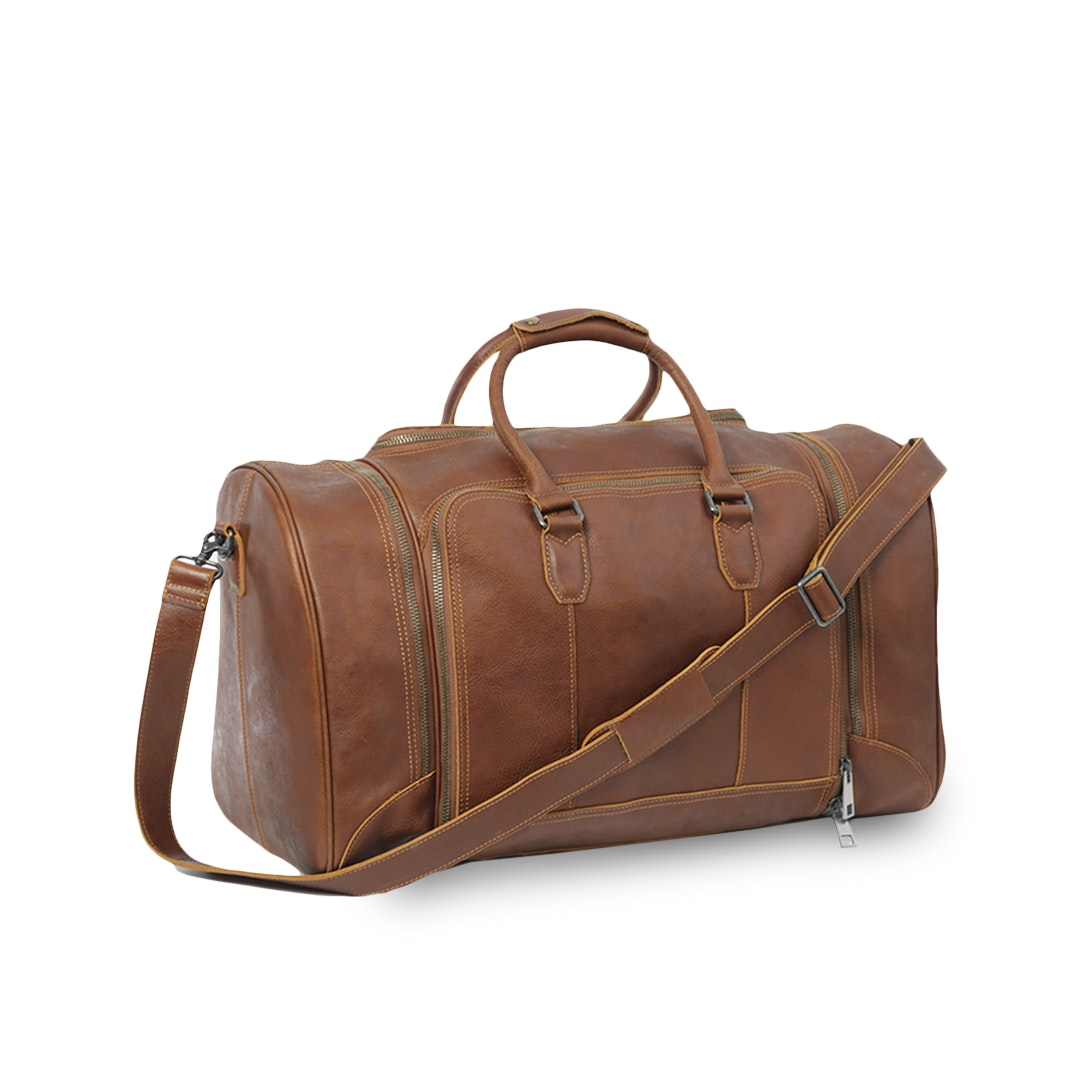 Massdrop Cruz Leather Weekender (Rev 2)
