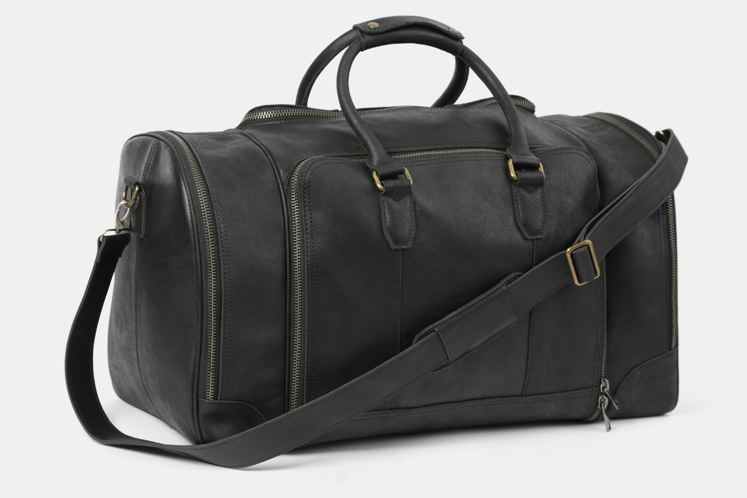 Black Bag with Silver-colored Hardware