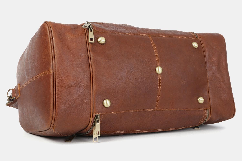Massdrop Cruz Leather Weekender