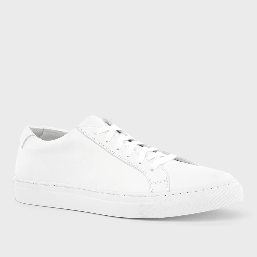 Massdrop Puro White Low Top Sneaker | Price & Reviews | Drop