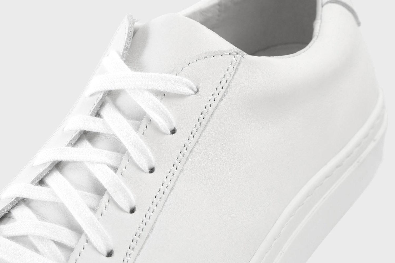 Massdrop Puro White Low-Top Sneaker