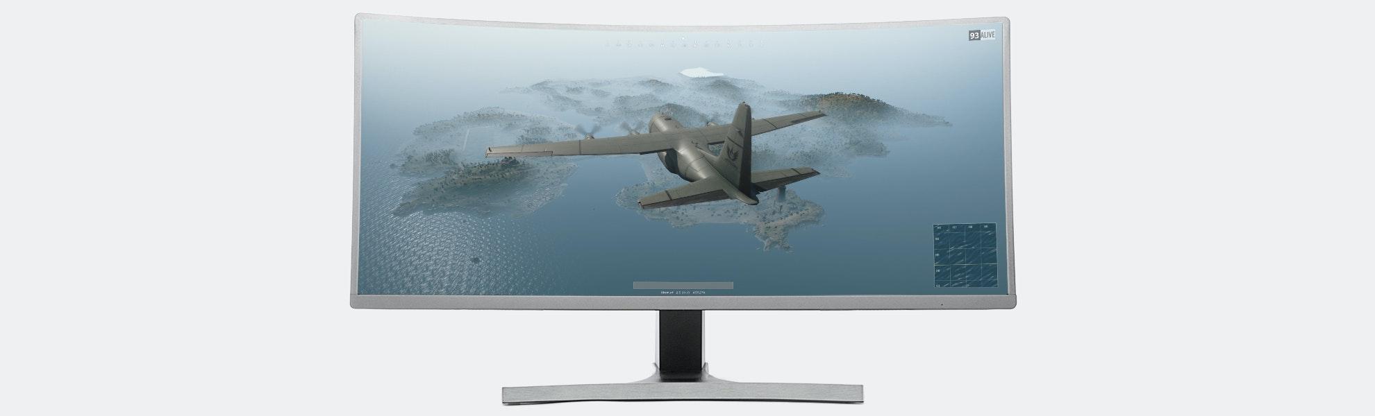 Massdrop Vast 35-Inch Curved Gaming Monitor