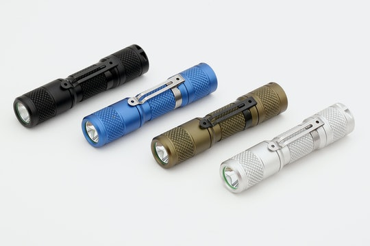 Drop Vega AA/14500 Aluminum Flashlight
