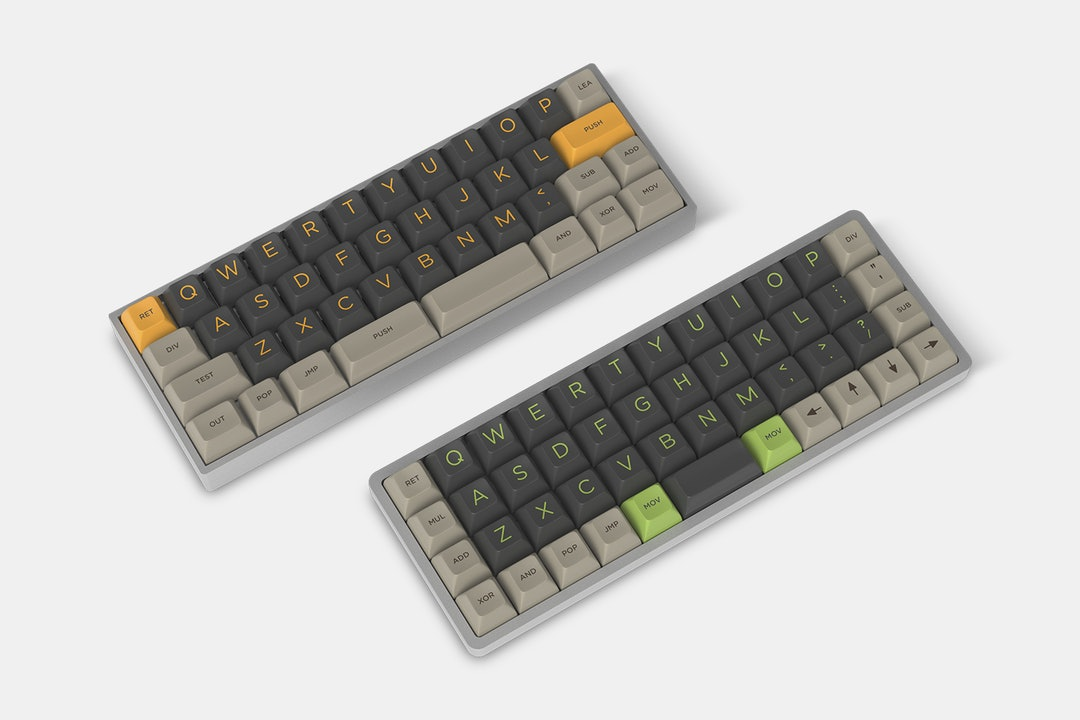 Massdrop x admgc SA Green Screen Custom Keycap Set