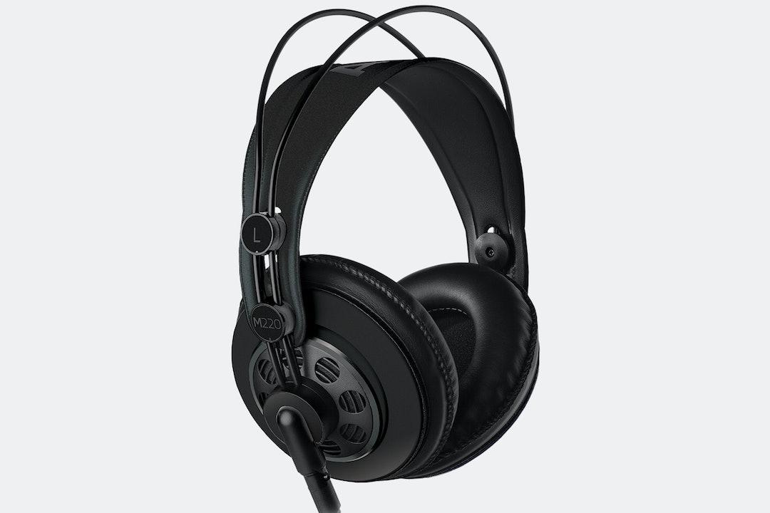 Massdrop x AKG M220 Pro Headphones – Black