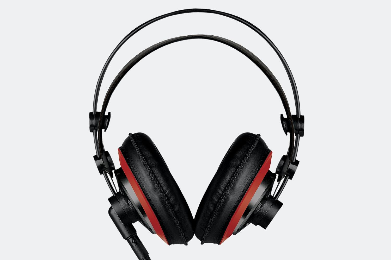 Massdrop x AKG M220 Pro Headphones – Red