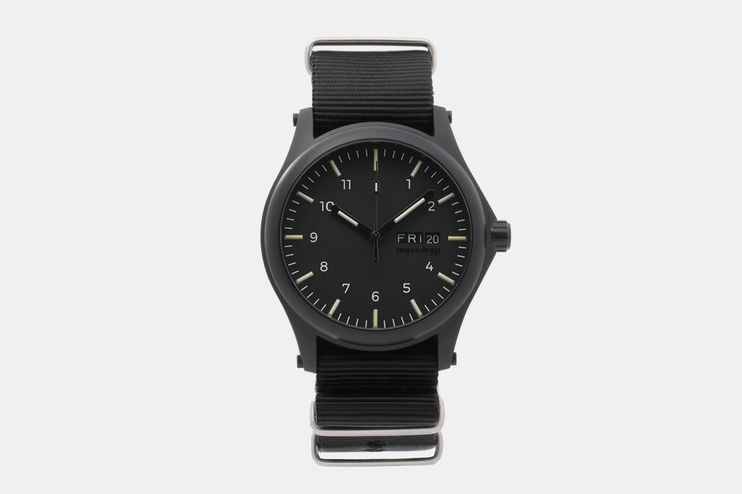 Black Dial / Black PVD Case / Nylon Band (+$20)