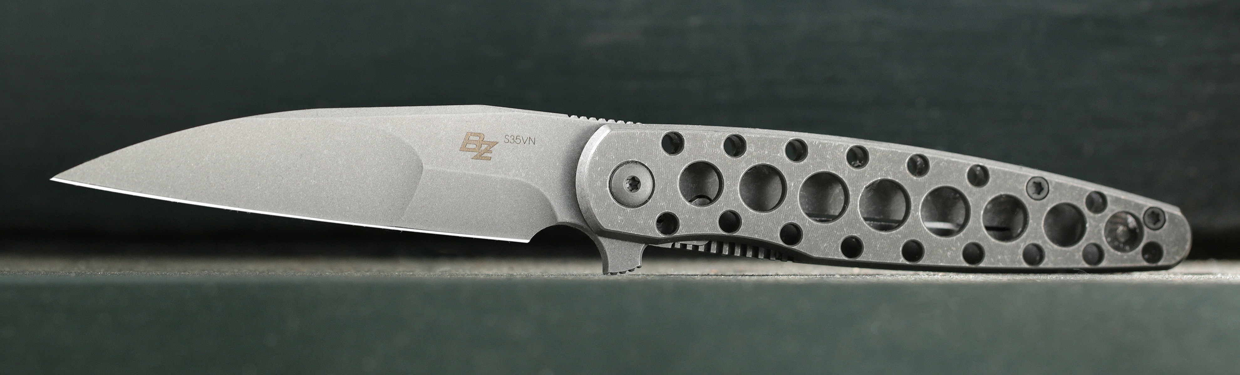 Massdrop x Brad Zinker Dogtooth Frame Lock Knife