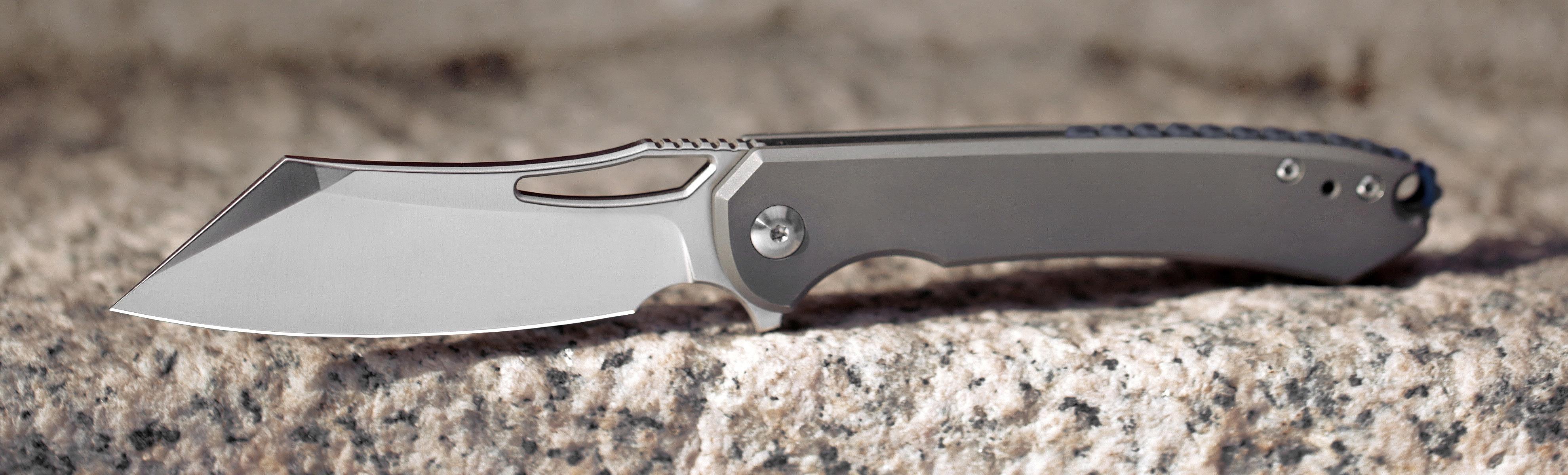 Massdrop x Ferrum Forge Buc Titanium Frame Lock