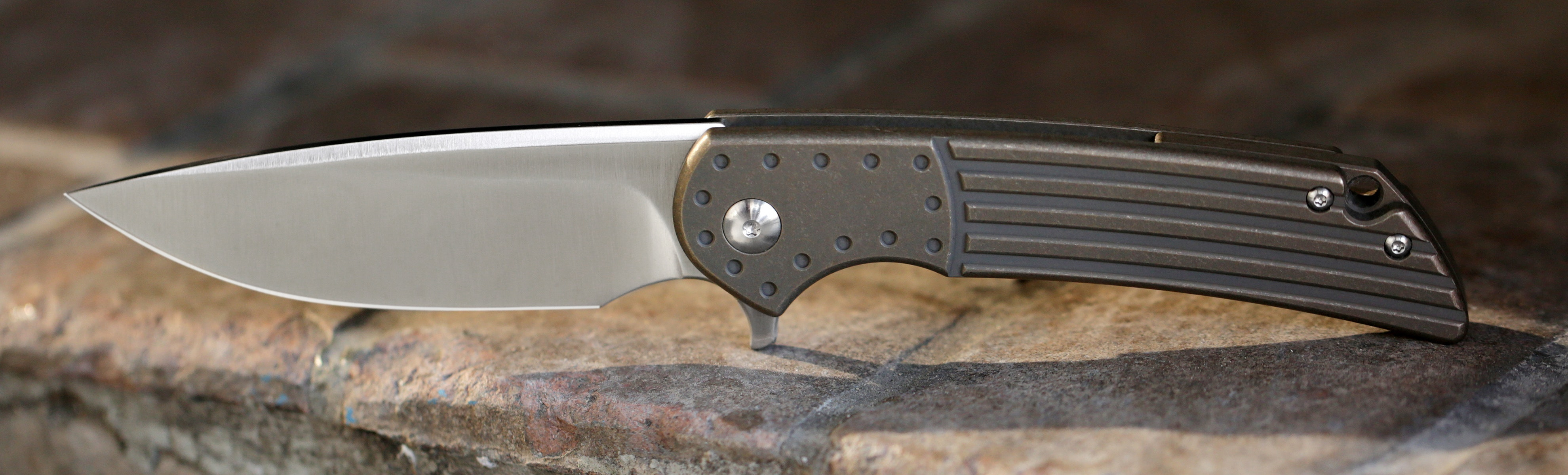 Massdrop x Ferrum Forge Crux S35VN Folding Knife