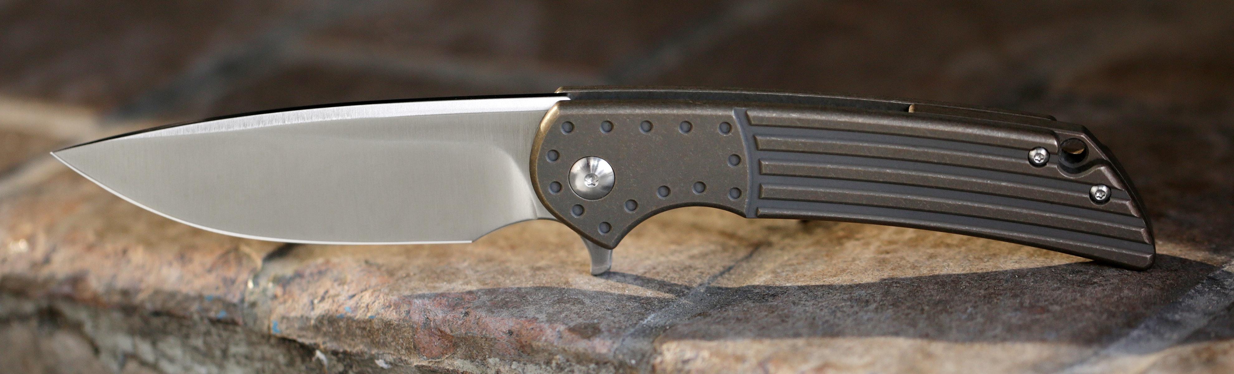 Massdrop x Ferrum Forge Crux S35VN Folding Knife