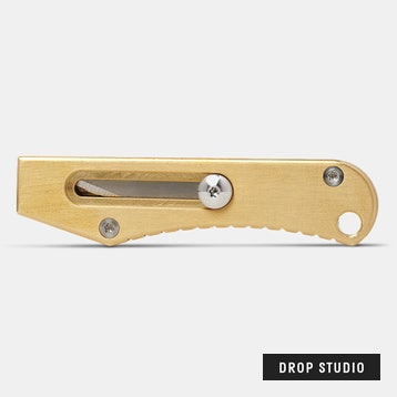 Massdrop x Ferrum Forge Retracting Utility Knife
