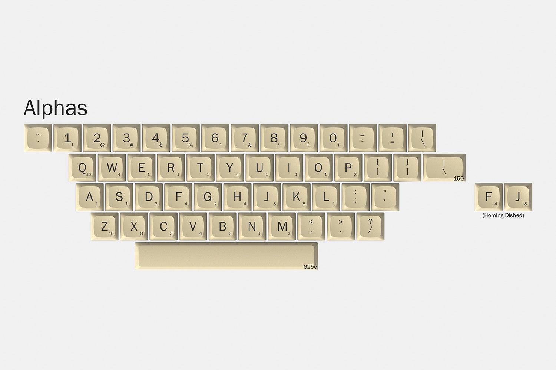Massdrop x Hasbro XDA Scrabble Custom Keycap Set