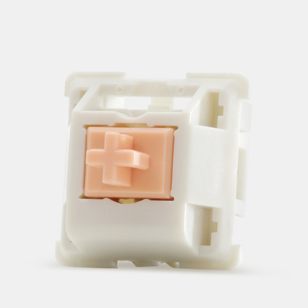 67g Spring Drop Invyr Holy Panda Mechanical Switches 90 Pack Plate Mounted Tactile Keyboard Switches Cherry-Style